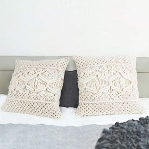 Urban Outfitters 2pcs Throw Pillow Cover Macrame